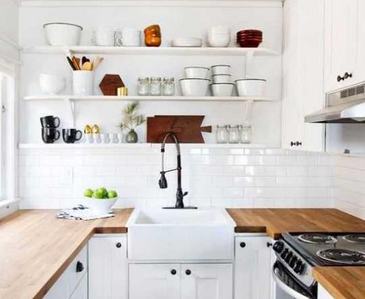 Model Rak Gantung Dinding Dapur