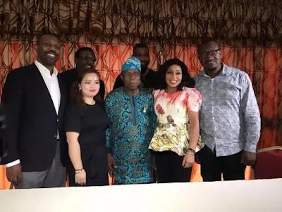 Selfie photos of Rita Dominic and Obasanjo 6666