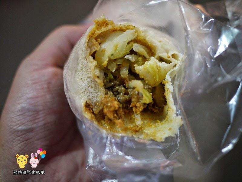 P1210773 - 東海夜市商圈│路邊攤賣的甜蜜潤餅(綜合口味