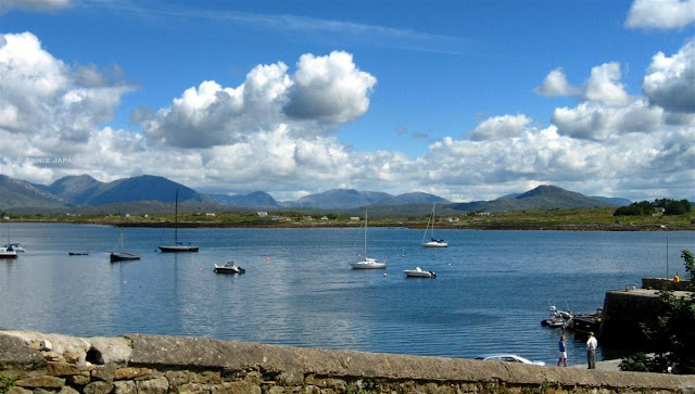 boats, water, ocean, Roundstone © Annie Japaud Photography