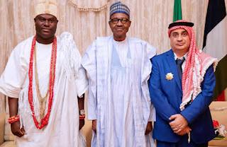 Ooni visits Buhari