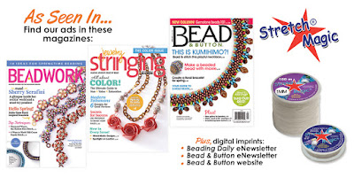 Stretch Magic Jewelry Cord is available at most craft and bead shops.
