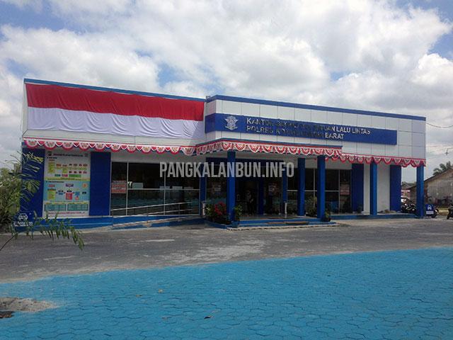 kantor Satlantas Polres Kotawaringin Barat