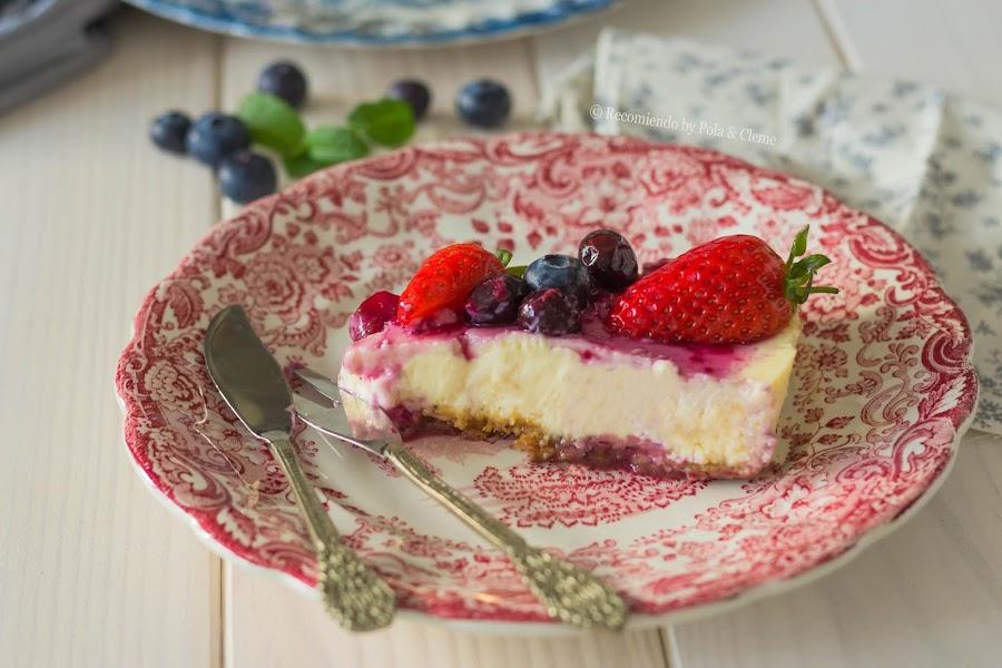 Cheesecake por recomiendoblog.com
