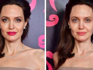 Aplicativo remove maquiagem das celebridades