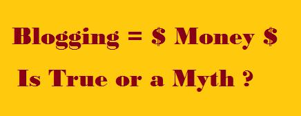 Blogging, Money, Make Money Blogging, Blogging Secret