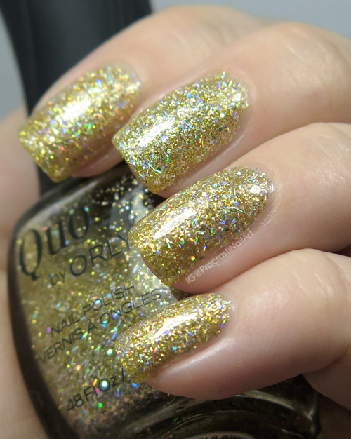Quo by ORLY Gold Rush Sparkle