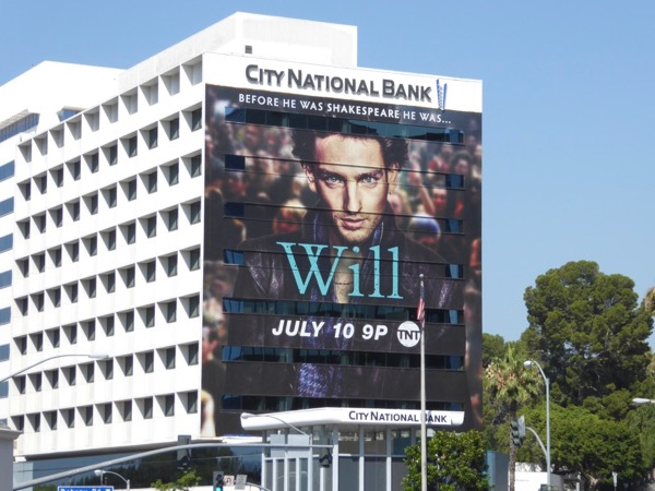 Giant Will series premiere billboard