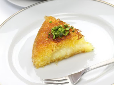 Osmalieh - Kunafa With Cream