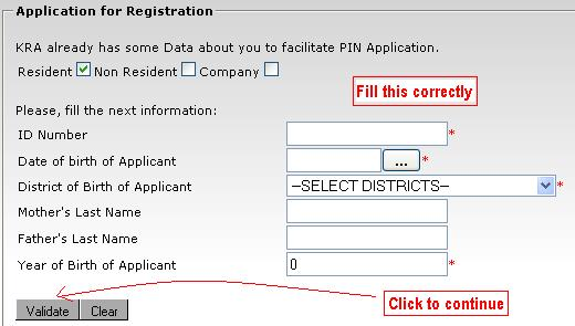 krapin4 Kra Pin Sample Filled Application Form on
