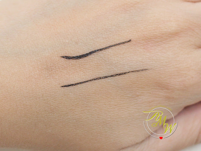 a swatch photo of Kate Tokyo Super Sharp Liner EX Review by askmewhats
