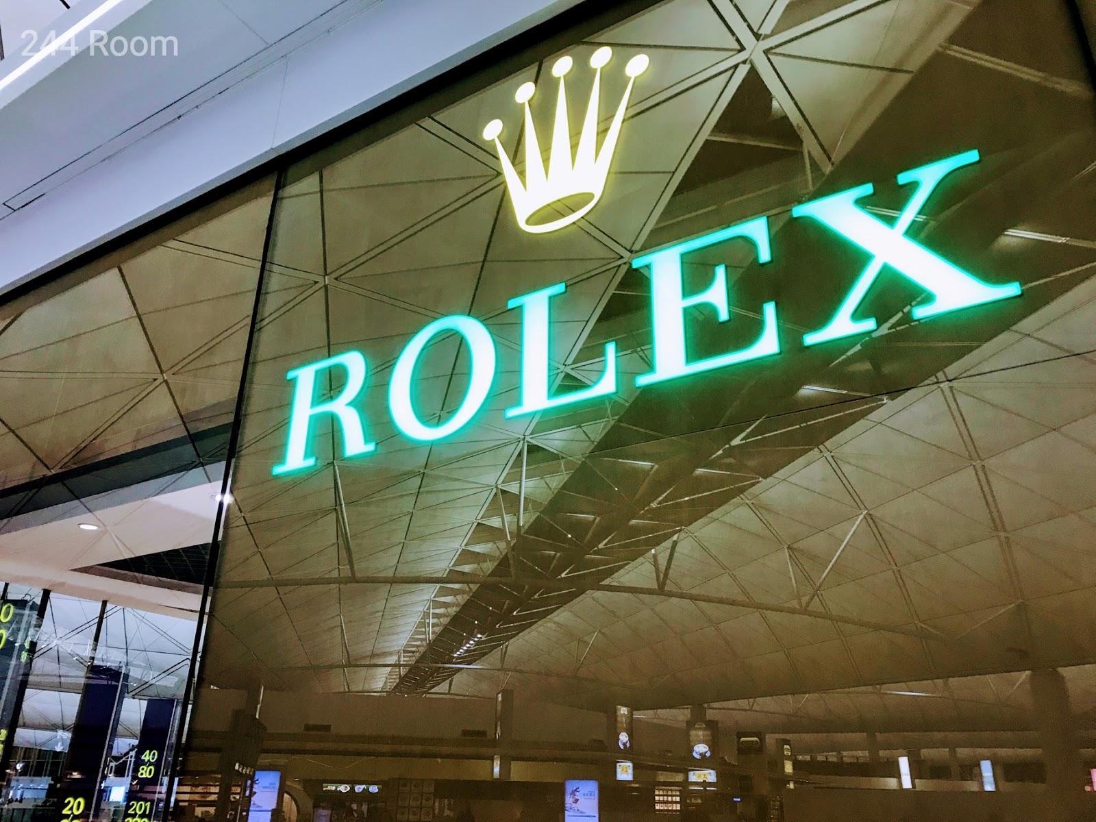 Rolex shop HKG Airport2