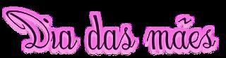 Texto png Dia das mães - Criação Blog PNG-Free