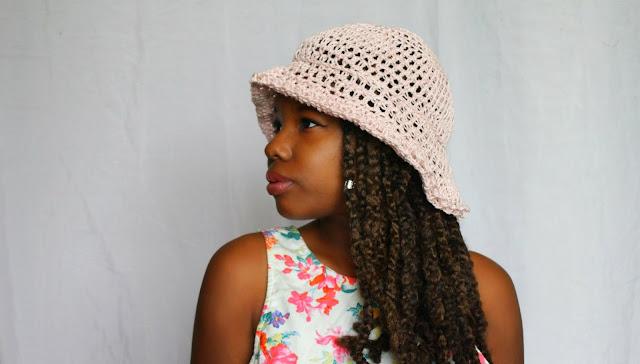 DIY // Crochet Spring Hat // Free Crochet Pattern!