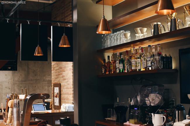 日本人ファッションブロガー、カフェ、THE BAYS:Boulevard Cafe「&9」