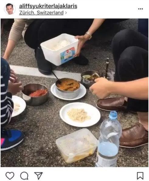 Dato' Aliff Syukri Makan Di Kaki Lima, Ini Jawapan Syarikat Travel