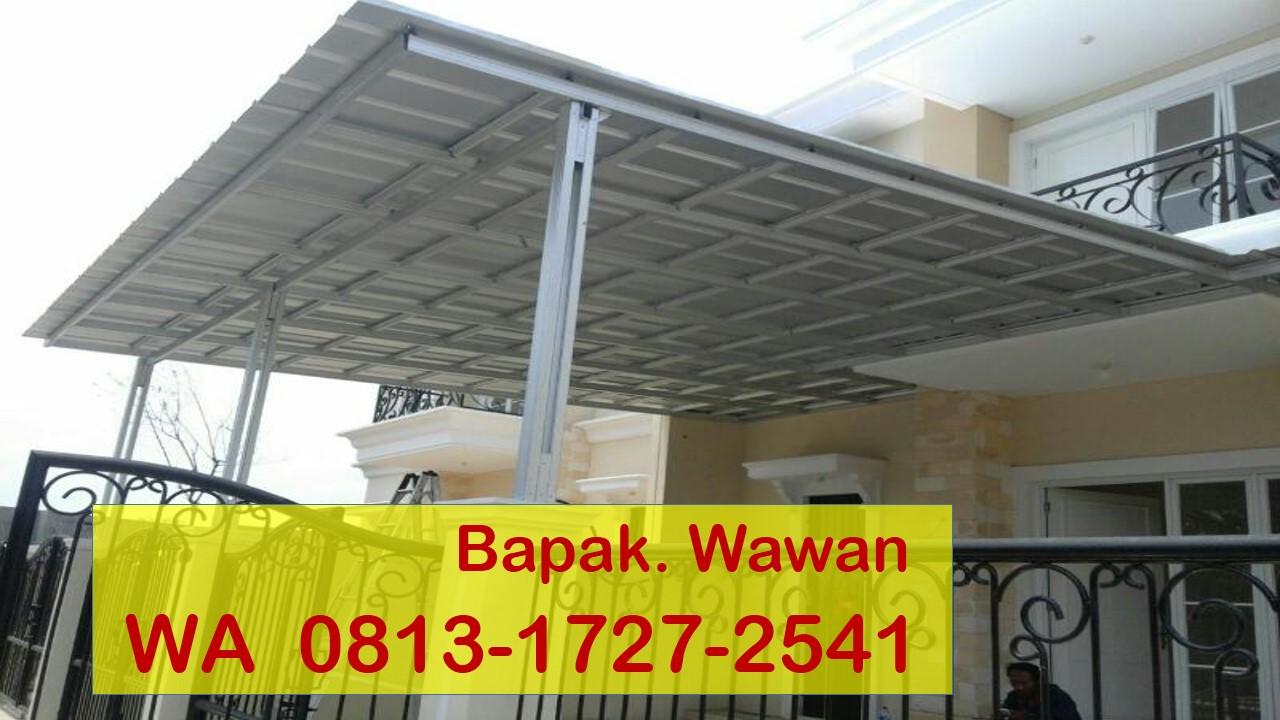 Kanopi Baja Ringan Tangerang Wa 0813 1727 2541 Jasa Pasang Di