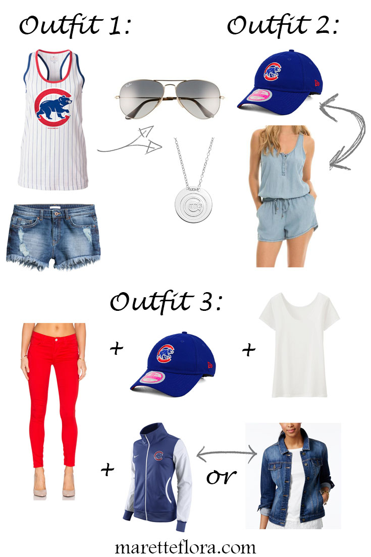 Floradise: What to Wear to a Chicago Cubs Game