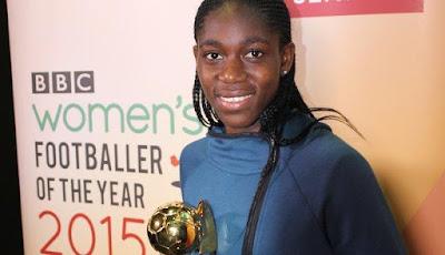 Asisat Oshoala 'Shames' BBC for Snubbing African Female Footballers