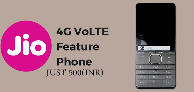 Reliance Jio 4G VoLTE Feature Phone specification  #rs=500