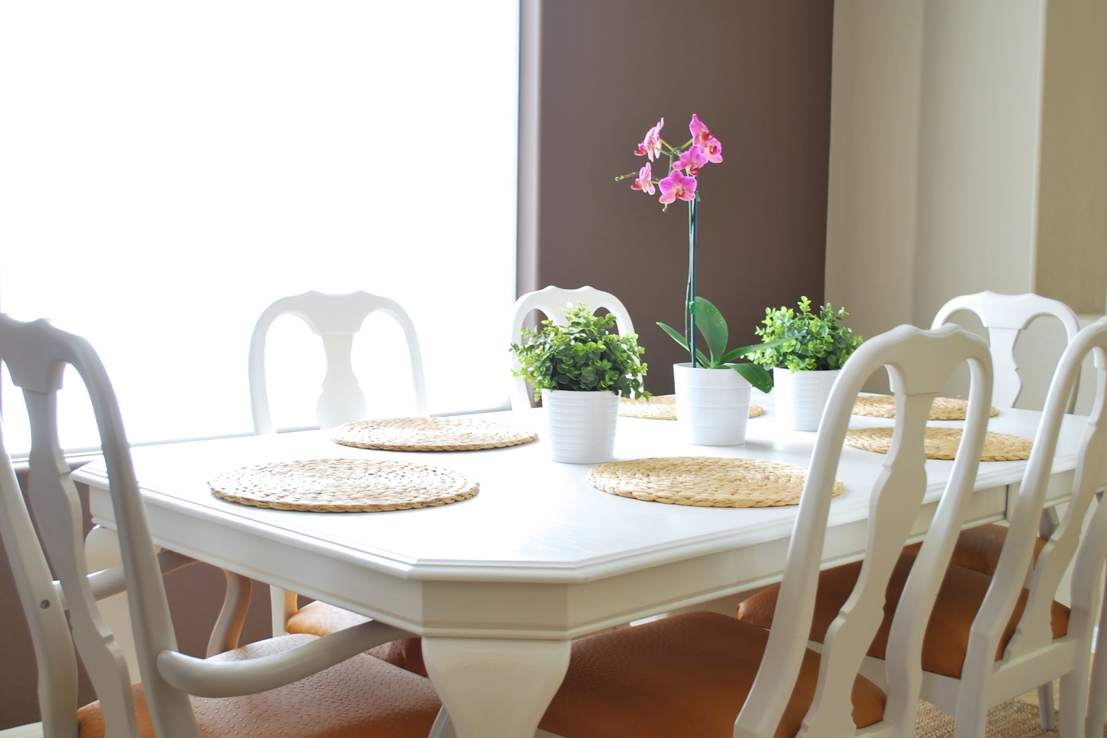 Remodelaholic | Refinished Dining Room Table and Chair Re ...