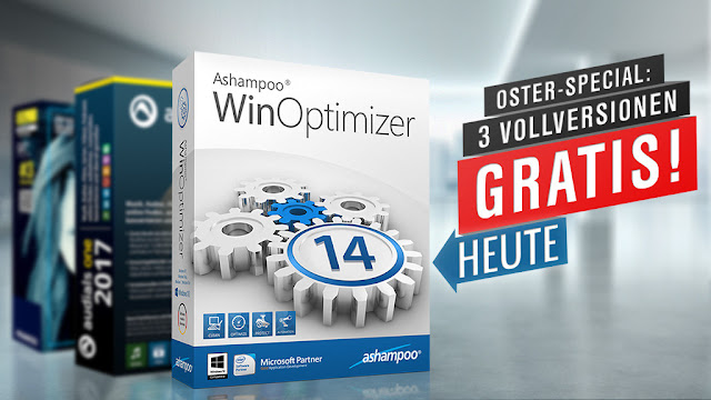 Ashampoo WinOptimizer 14: Full version free instead of 39.99 Euro