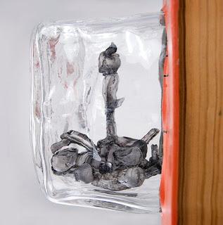 arte con vidrio molido