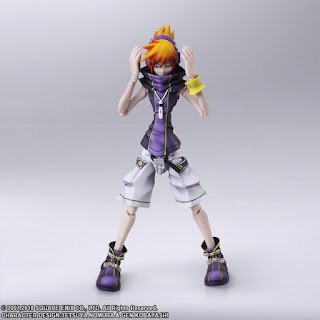 Neku Sakuraba Bring Arts de The World Ends With You Final Remix - Square Enix