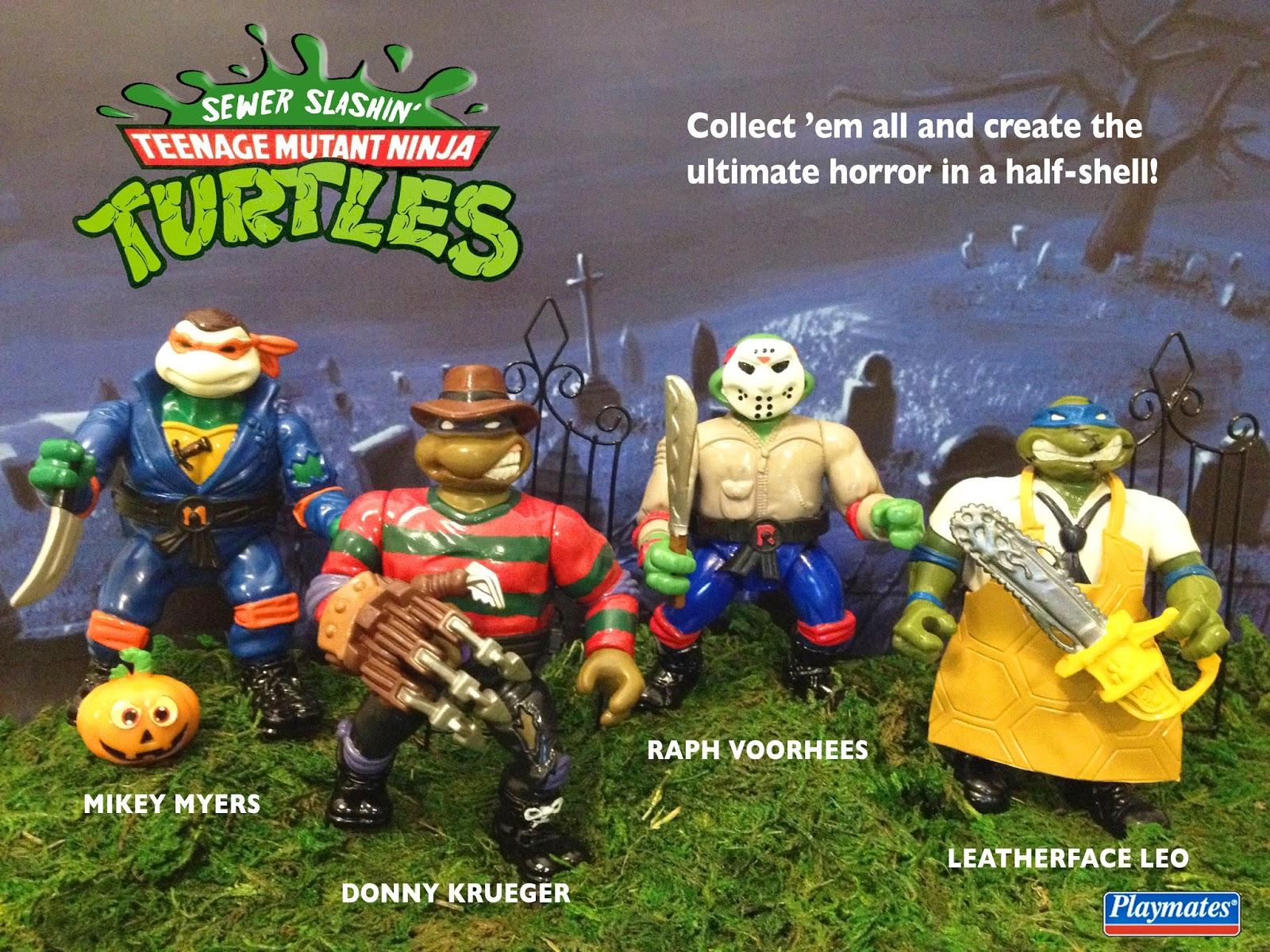 55528157f Death by Toys: New Customs: Ninja Turtles Based on Horror Movies