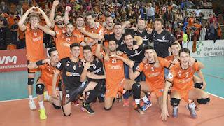 VOLEIBOL - El CV Teruel destrona al Unicaja y es supercampeón por quinta vez