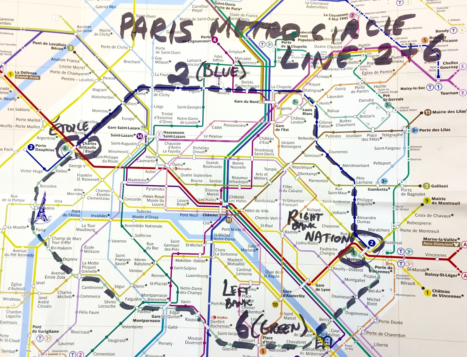 Time Travel: SUBWAYS | Mastering the Métro