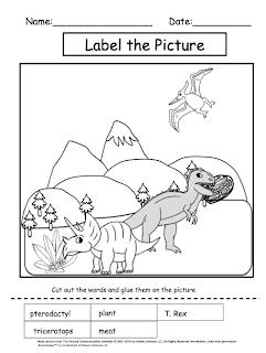 Autism Tank: November Science: Dinosaurs