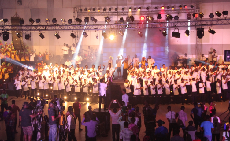 RCCG Youths break world record again with their 74 hours