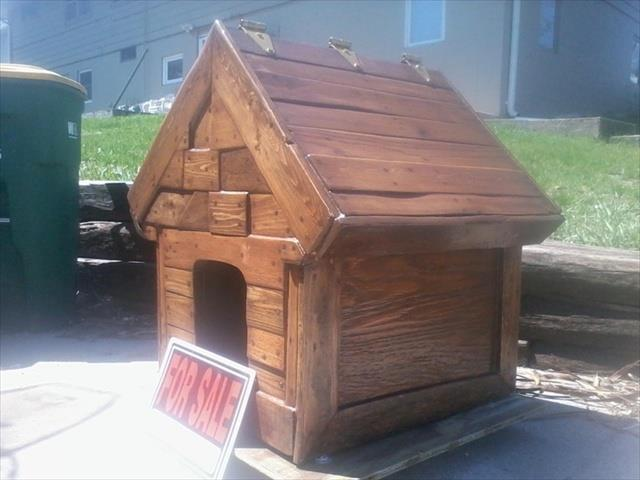 Diy And Craft Ideas 7 Diy Pallet Doghouse Ideas