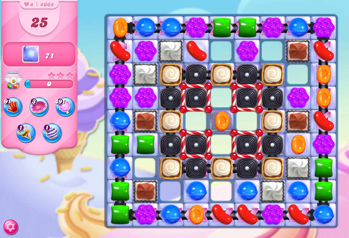 Candy Crush Saga level 4064
