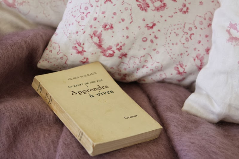 Book and cushions