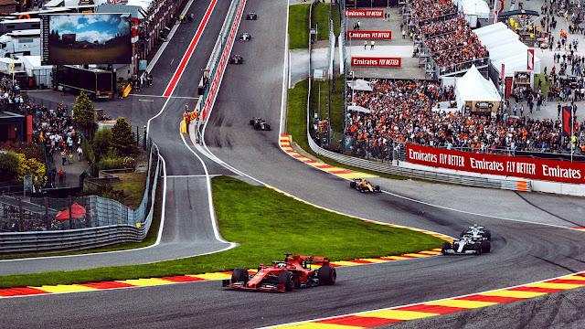 F1 Belgium Grand Prix 2020