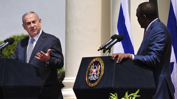 Netanyahu en Kenia