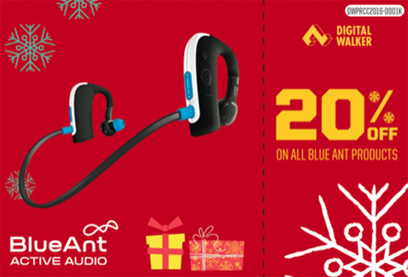 20% off on all BlueAnt products