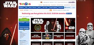 Bestellen Sie bei Toys R Us Star Wars Fanartikel, Spielzeug und Kleidung auf Rechnung