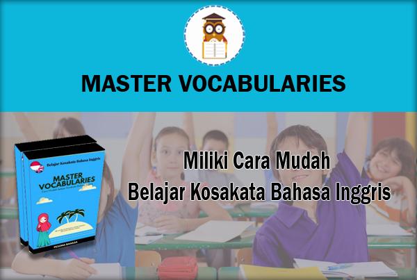 >80 Video Siap membantu Sobat Pelajari Kosakata Bahasa Inggris