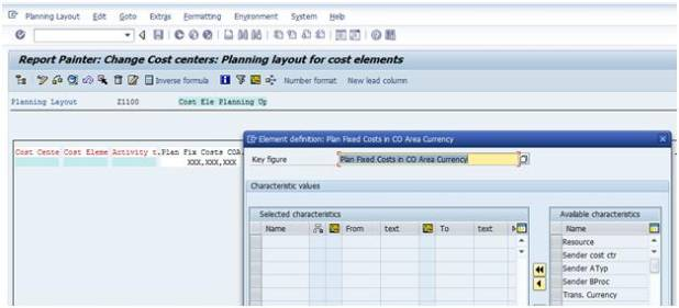 Cost center planning excel upload sap