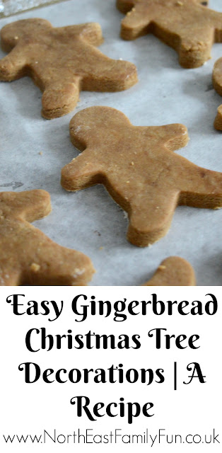Easy Homemade Gingerbread Christmas Tree Decorations | A Recipe
