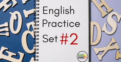 English Practice Set Part- 2