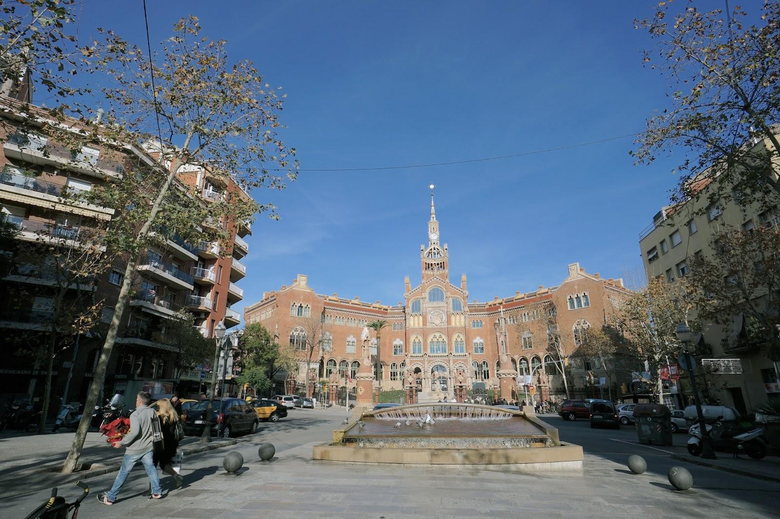 サン・パウ病院(Hospital de Sant Pau)