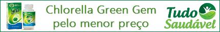 Chlorella Green Gem Pelo menor Preço Você Encontra na Tudo Saudável Produtos Naturais