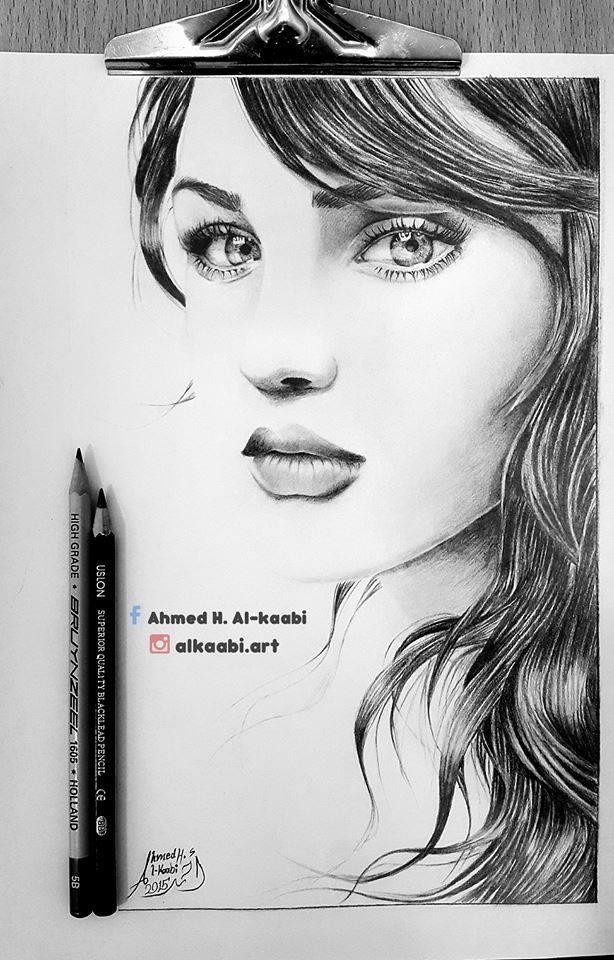 رسم رائع للرسام أحمد حسن حسان