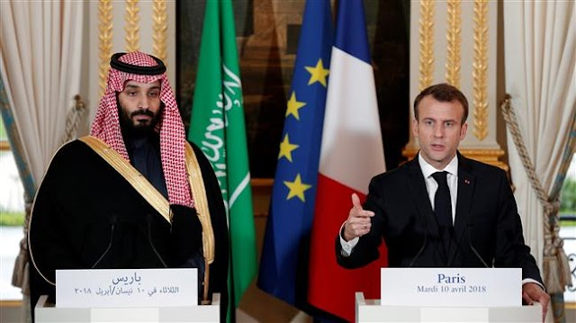 French President Emmanuel Macron defends arms sales to Saudi Arabia