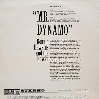 Ronnie Hawkins And The Hawks - Mr. Dynamo (1960)