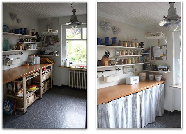 Andrea Meyer: DIY - Projekt Küchenrenovierung: Vorhang für